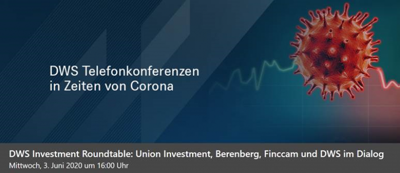 finccam beim DWS Investment Roundtable